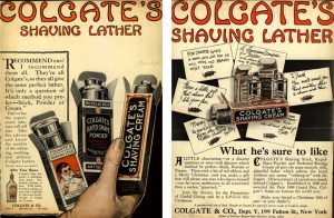 Colgate's Shaving Lather - 1914