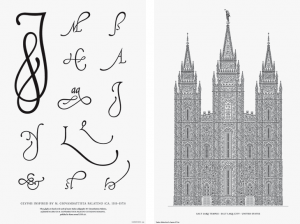 Palatino Glyphs and Letterpress Posters by Cameron Moll