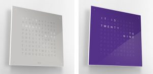 QlockTwo – The fourth dimension squared by Biegert & Funk