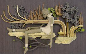 Clay art by Meredith Dittmar