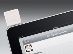 Square mobile payment system