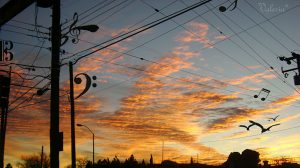 Playing with the sky - Valeria Prieto