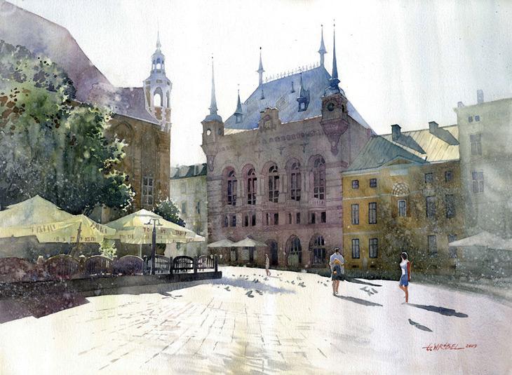 Watercolors By Grzegorz Wr 243 Bel Livingdesign Info